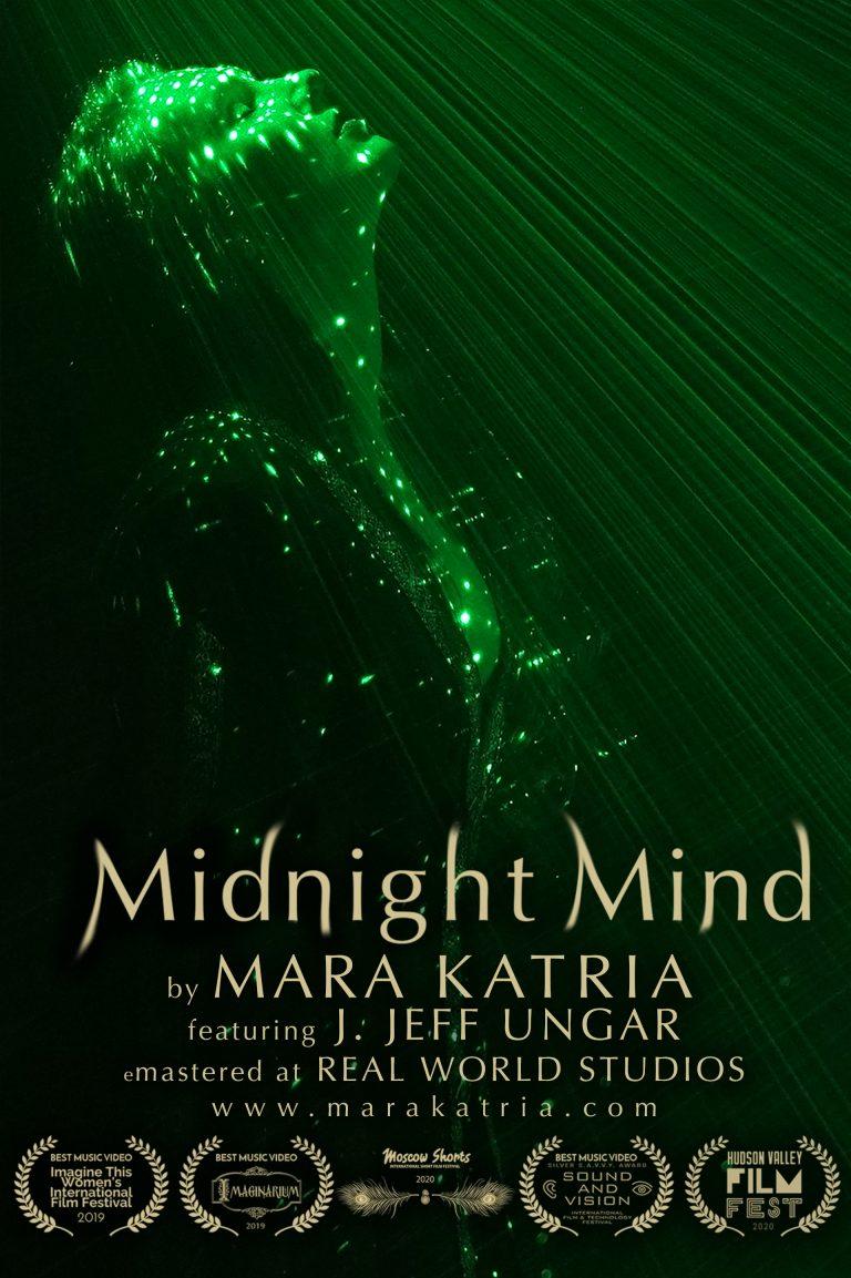 "Midnight Mind by Mara Katria ""Dream"" Poster"