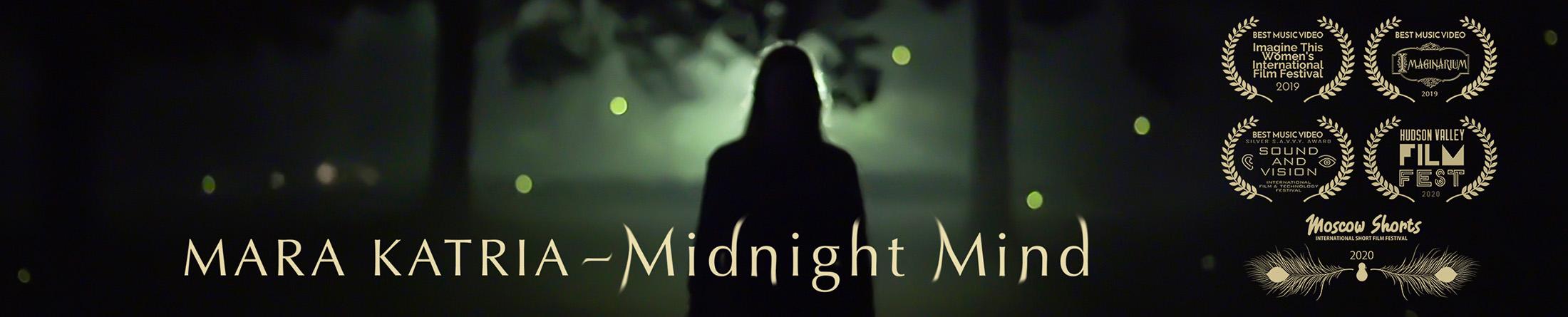 "Midnight Mind by Mara Katria ""Dragon's Breath"" Poster"